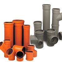 Трубы для канализации, фитинги и оборудование