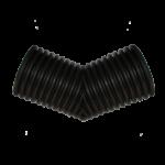 Отвод гофрированный Корсис 45гр