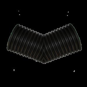 Отвод сварной гофрированный Корсис 45гр