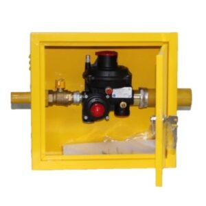 Газорегуляторный пункт шкафной ГРПШ-10-1 Venio