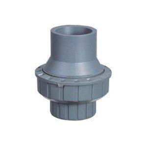 Клапан пружинный обратный ПВХ клеевой