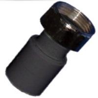 Муфта ПЭ комбинированная с накидной гайкой для сварки в раструб